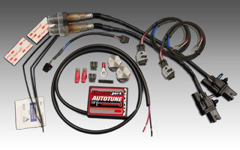 Power Commander Auto Tune Universal Dual Channel O2 Sensor Kit 2 Wideband Sensors Included For Non-Harley PCV