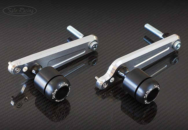 Sato Racing Frame Sliders - #S-GSX117FS-BK GSXR1000 17-18 Frame Sliders Black