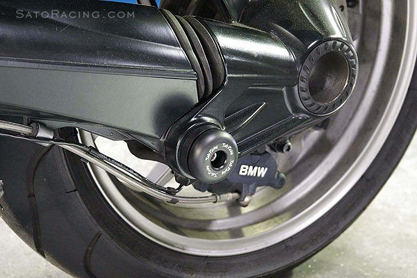 Sato Racing Swingarm Slider Left BMW K 1200R 2006 2008 K 1200S 2004 2008 K 1300R 2009 2011 K 1300S 2009 2011 Delrin