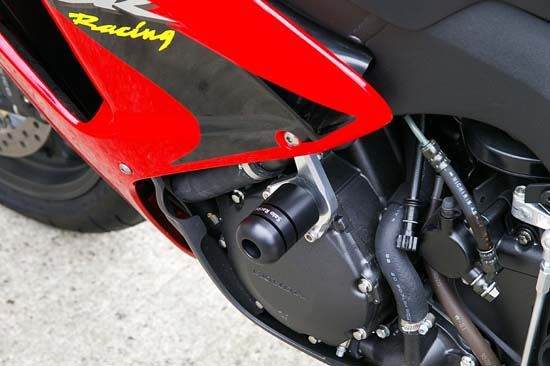 Sato Racing Frame Sliders - #H-CBR106FS-BK CBR 1000RR 06-07/No Fairing Modifications Required/Black Delrin