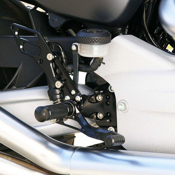 Sato Racing Rear Sets - #HD-XR1209RS-SV XR 1200 09-11/5 Positions/Silver Anodized