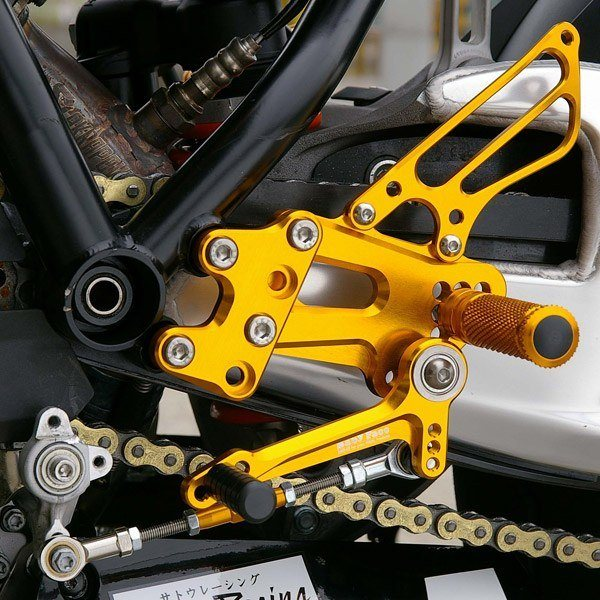 Sato Racing Rear Sets - #KTM-RC8RS-BK 1190 RC8 & RC8R 08-16/18 Positions/Standard Shift ONLY/Black Anodized