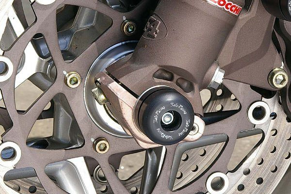 Sato Racing Axle Sliders Front