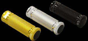 Sato Racing Replacement Parts Standard Round Knurled Footpeg/CNC Machined Billet Aluminum/Gold Anodized - #PEG-GD Standard Round Knurled Footpeg/CNC Machined Billet Aluminum/Gold Anodized