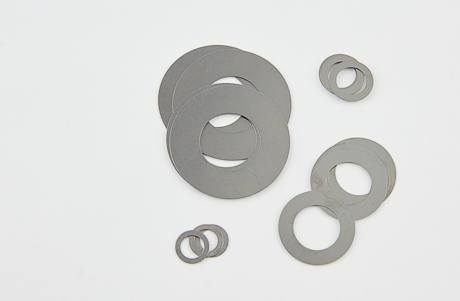 K-Tech Suspension High Performance Shims - #SH08 8mm I.D. 10mm Through 19mm O.D., .010,.015,.020,.025,.030 mm Thickness