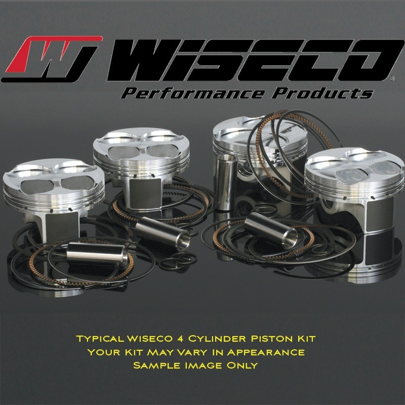 Wiseco Piston Kit - #R1052 ZX 11 ZZR 1100 Ninja 90-01/GPZ 1100 95-97/ZRX 1100 99-00/78mm/12:1/1109cc